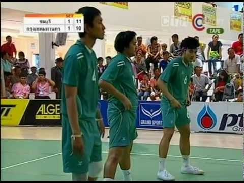 Sepak Takraw Chonburi VS Bangkok -Final