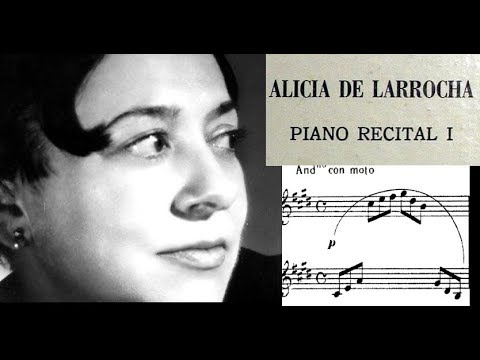 Debussy / Alicia De Larrocha, 1963: Arabesque No. 1 And 2 In E Major And G Major