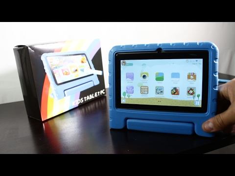 GBD Kids Tablet Review and How to | Augmented Reality 4D Education OS