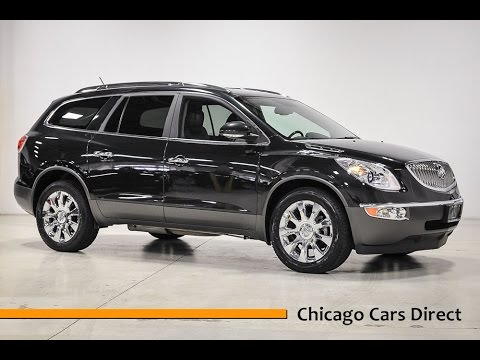 Chicago Cars Direct Reviews Presents a 2011 Buick Enclave CXL-2 AWD - J416584