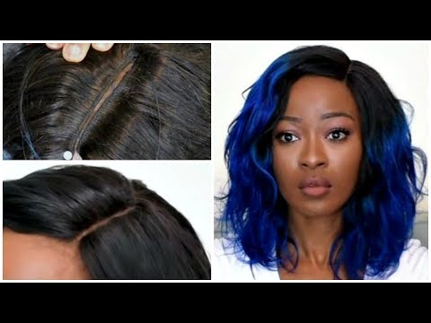 Too Broke For A Lace Closure? FAKE IT! Affordable $60 Wig Tutorial | Wiggins Hair On Amazon