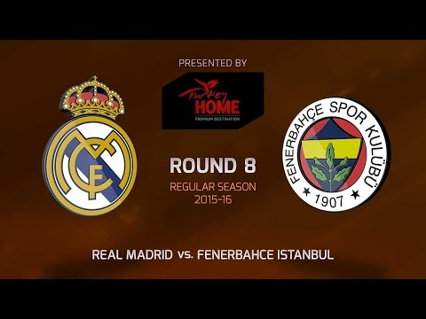 Highlights: RS Round 8, Real Madrid vs. Fenerbahce Istanbul