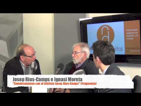 Josep Rius-Camps i Ignasi Moreta, entrevistats pel seu llibre de converses a Religión Digital