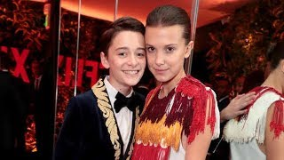 Millie Bobby Brown & Noah Schnapp Funny Moments Part 3