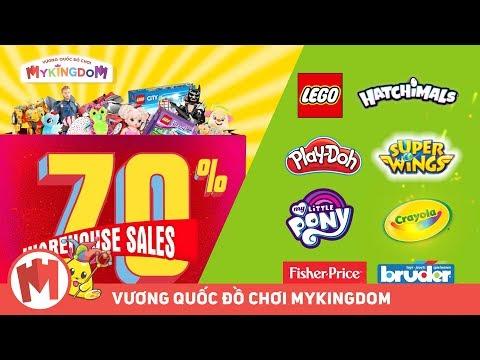 Quảng cáo chương trình khuyến mãi siêu to khổng lồ   MyKingdom Warehouse Sale 2019