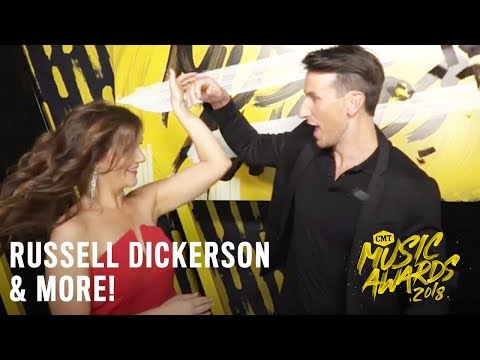 2018 CMT Music Awards | Russell Dickerson and More Go Slow-Mo