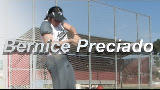 2021 Bernice Preciado Catcher and Third Base Softball Skills Video - Socal Athletics McCarthy