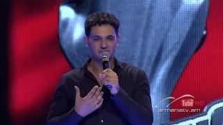 Artur Margaryan,You Raise Me Up -- The Voice of Armenia – The Blind Auditions – Season 3