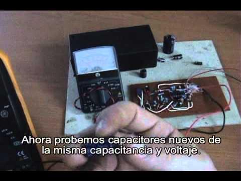 Medidor de ESR excelente para encontrar capacitores malos!