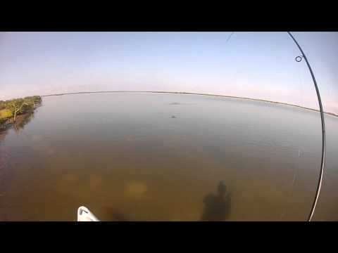 Sight Fishing Redfish - kayak fishing, kayak photos, kayak videos