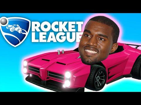 Kanye West and Rocket League