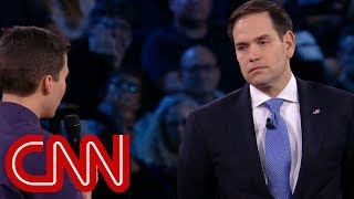 Video Survivor to Rubio: Will you reject NRA money? MP3, 3GP, MP4, WEBM, AVI, FLV Maret 2018