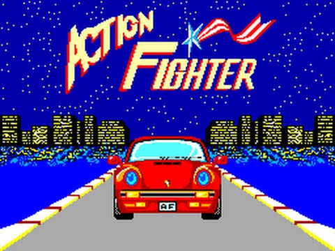 ACTION FIGHTER / jeu complet MASTER SYSTEM SEGA / PAL