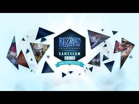 Gamescom Live Stream: Hearthstone and Heroes of the Storm - August 7, 2015