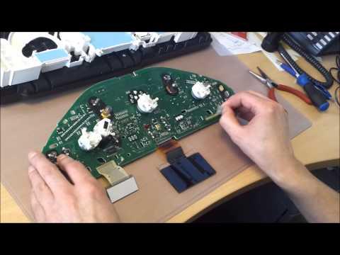 Mercedes CLK W208 E Class W210 Non Bond Pixel Repair Instructions