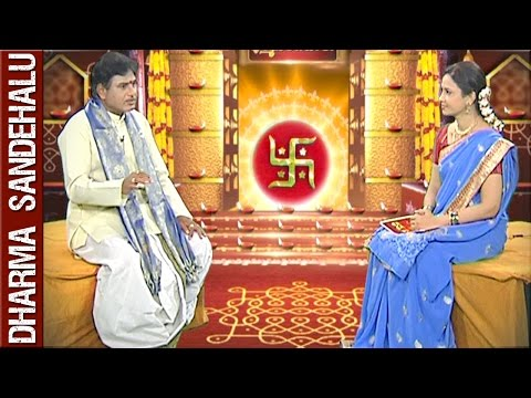 Sri Palaparthi Syamalananda Prasad || Dharma Sandehalu || 23rd February 2016 || Bhakthi TV
