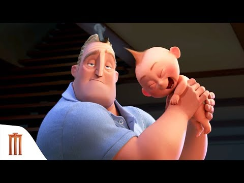 Incredibles 2 - Olympics Sneak Peek