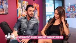Video L'Interview de Thomas Vergara et Nabilla Benattia par Matthieu Delormeau pour Le Mag - Allô Nabilla MP3, 3GP, MP4, WEBM, AVI, FLV Oktober 2017