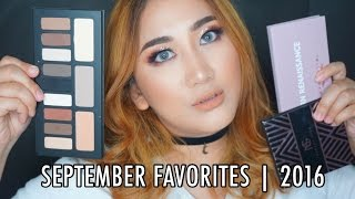 """SEPTEMBER FAVORITES  2016Hi guys don't forget to watch this video on HD mode!Seperti biasaaaaa, aku sharing produk-produk yang jadi favorit aku selama bulan September 2016.Have you watch my """"ONE-BRAND TUTORIAL  MAKE UP FOREVER"""" ?https://youtu.be/ee7AgqkedJgPLEASE HELP ME GROW MY CHANNEL! :)—— THUMBS UP AND SUBSCRIBE —— ———————————————————————————————————Products mentioned (NOT IN ORDER) :--- Kat Von D Shade and Light EYE Palette--- Anastasia Beverly Hills Modern Rennaisance Palette.--- Makeup Geek X Manny MUA Palette.--- Farsali Rose Gold Elixir.--- Murad Facial Cleanser.--- Murad SPF 30 + Moisturizer for Acne Prones Skin.--- Murad Age Reform Complete Reform with Glycolic Treatment.--- Urban Decay Vice Lipstick """"Streak"""".--- Kylie Cosmetics Liquid Lipstick """"Exposed"""".I  N S T A G R A M —&-- T W I T T E R :http://www.instagram.com/sorayahylmihttp://www.twitter.com/sorayahylmiB E A U T Y   B L O G :http://www.ayabeautytips.blogspot.com--------------------------------------------------------------------------------------Video taken with :— SONY A5100Edited with :— iMovie-------------------------------------------------------------------------------------- — All products mentioned in this video were not being sponsored by any companies. I bought several of them with my own money. Some them are being sent to me. Honest Review. ---"""