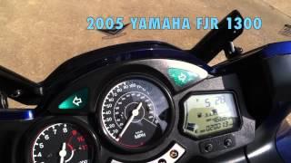 10. 2005 YAMAHA FJR 1300