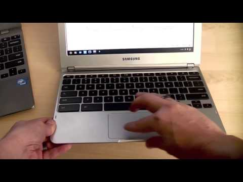 Samsung Chromebook First Hands-on and Comparison