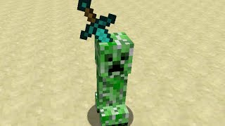 Minecraft Sculptures with Armor Stands