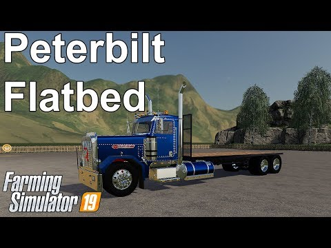 Peterbilt Flatbed v1.0.0.0