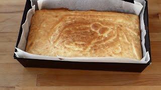 Pandișpan pufos - blat de tort - cu unt