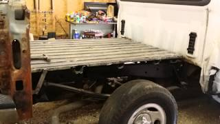 2002 ford f150 Truck bed repair from rust