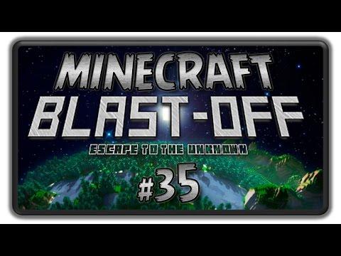 Minecraft BLAST OFF Lets Play - BashREO #35
