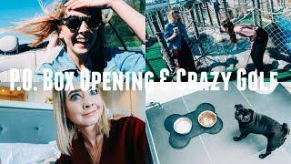 Video P.O. BOX OPENING & CRAZY GOLF MP3, 3GP, MP4, WEBM, AVI, FLV September 2018