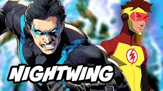 Titans Nightwing Season 1 Episode Schedule and Cast Breakdown