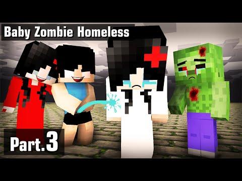 Sad Young Zombie Homeless |Sad Life Part3 : VT Minecraft Animation