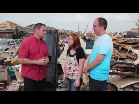 Couple's Home Destroyed by F-5 Tornado