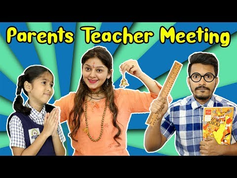 Parents Teacher Meeting Ft. Pari's Lifestyle | Funny Video