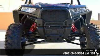 10. 2016 Polaris RZR 900 EPS XC Edition Stealth Black  - Ride...