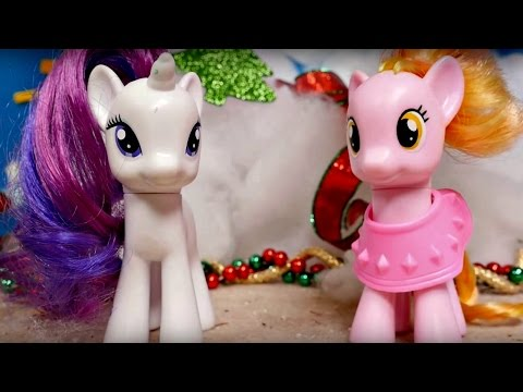 My Little Pony gets sick. Christmas video.
