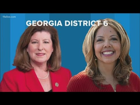 This is the last time a Democrat won the 6th District in metro Atlanta