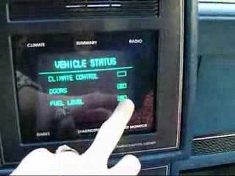 The first touchscreen to appear in a car came out 28 years ago, in the 1987 Buick Riviera