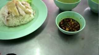 タイの人気グルメ・ガイトーンプラトゥナーム