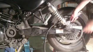 8. Hyosung GV650 Drive Belt Replacement