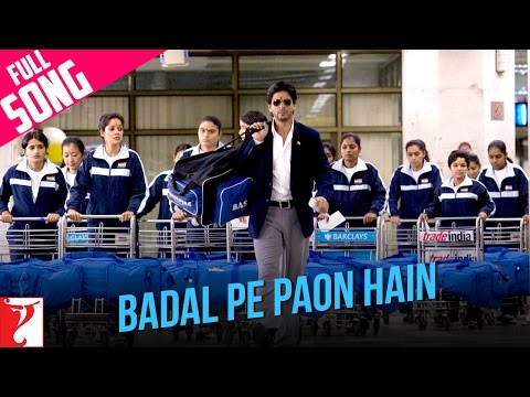 Badal Pe Paon Hain latest hindi Video from Hindi movie Chak De India