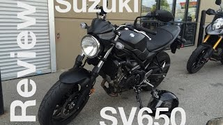 9. 2017 Suzuki SV650 Motorcycle Test Ride