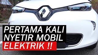 Video Pengalaman Pertama Nyetir Mobil Elektrik | Review Renault ZOE MP3, 3GP, MP4, WEBM, AVI, FLV Februari 2018