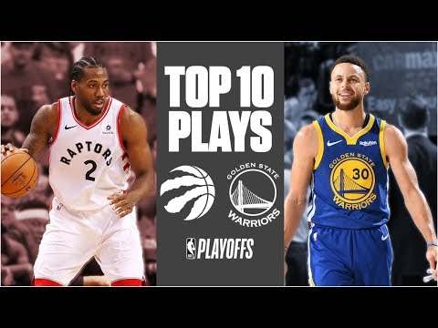 Warriors' And Raptors' Top 10 Plays Of The Season Going Into The 2019 NBA Finals | ESPN