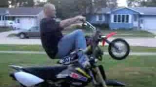 10. Modified Honda CRF 50 Pit Bike wheelies