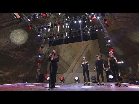 Eurovision Song Contest: Rumänische Halbfinalteilnehmer singen in Salzmine