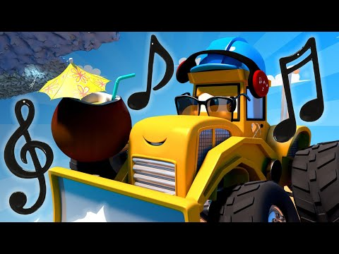 Monster Town - Mike the Bulldozer and the Hurricane | Monster Trucks Cartoon for Children