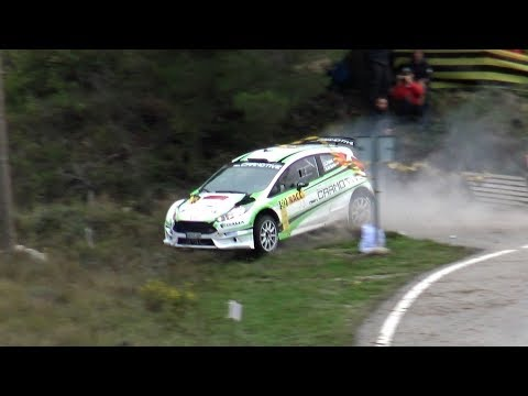 WRC RallyRACC Catalunya 2017 Crash & Full Attack by Jaume Soler