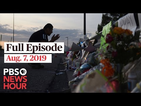 PBS NewsHour live show August 7, 2019